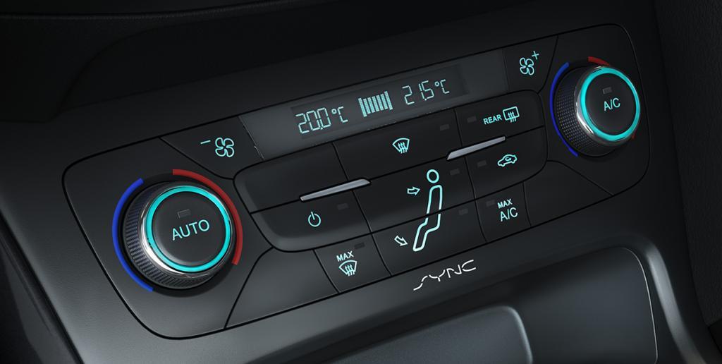 ar-condicionado digital do Ford Focus