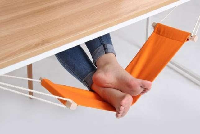 Rede para os pés