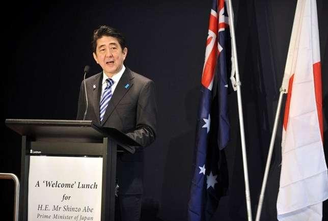 Shinzo Abe - Bloomberg