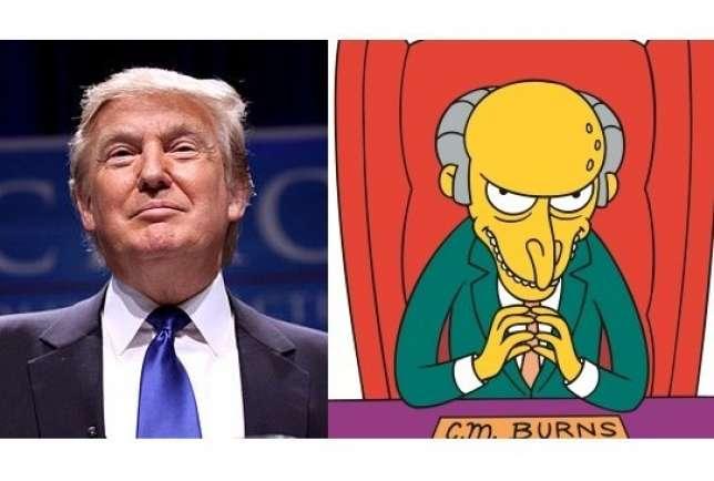 Donald Trump - Montgomery Burns