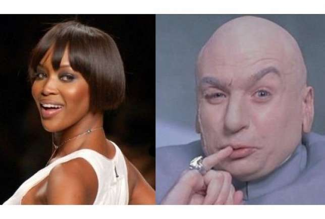 Naomi Cambell - Dr. Evil
