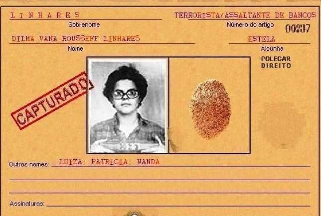 Ficha de Dilma