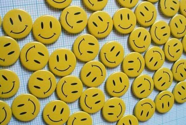 Smiley Faces Yellow