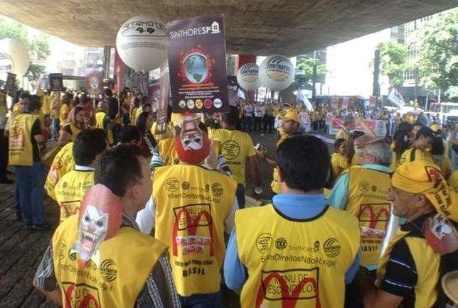 McDonald's-protesto