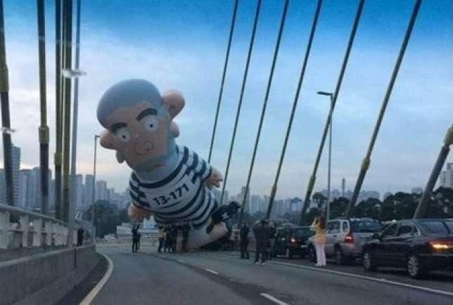 Lula inflado na Estaiada