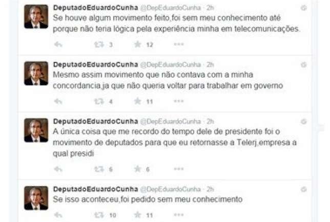 Eduardo Cunha - Twitter