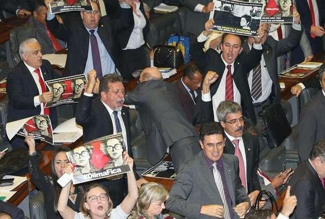 Tumulto na Câmara