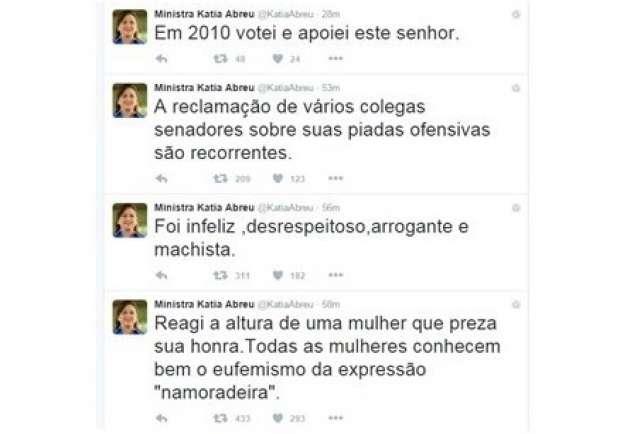 Kátia Abreu - Twitter