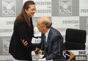 Kátia Abreu e José Serra