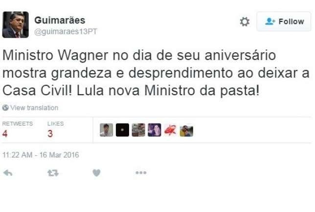 Twitter - José Guimarães