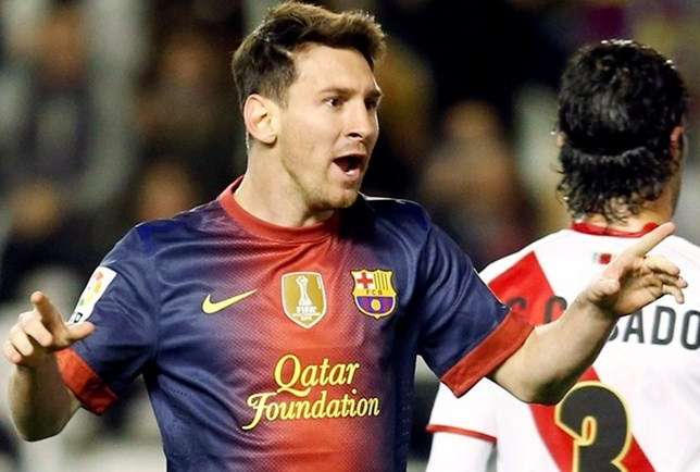 Lionel Messi - 27/10/12