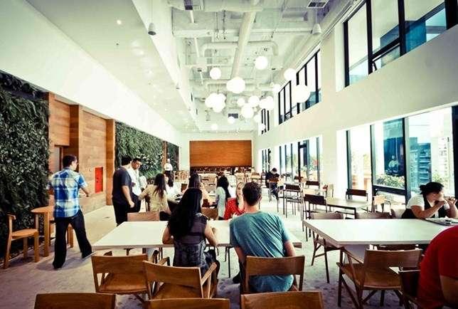 Restaurante 1 - Escritório do Google