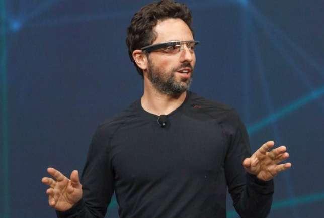 Sergey Brin Google Óculos