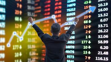 Investidor ganha com operações na Bolsa (Shutterstock)