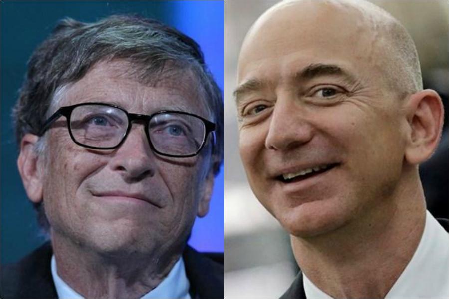 As 10 pessoas mais ricas do mundo