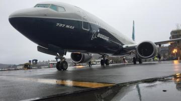 Boeing 737 Max estacionado