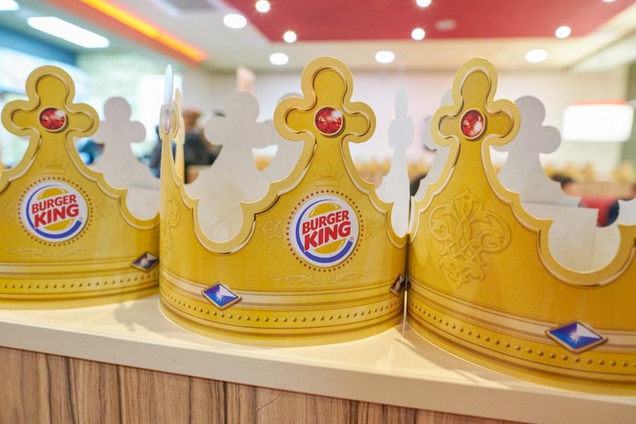 Coroas de papel do Burger King