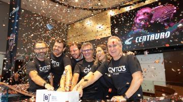 IPO da Centauro em abril de 2019 (Divulgação)