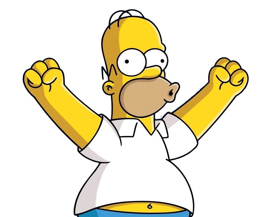 Somos mais parecidos com o Homer Simpson