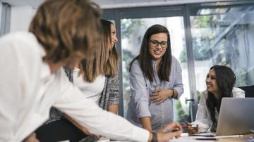 Mulheres em reunião