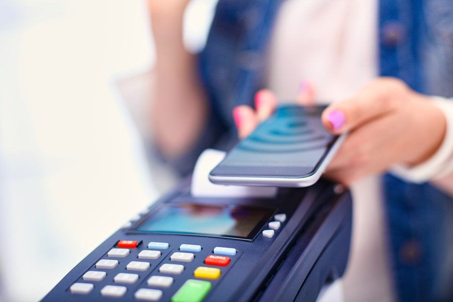 Pagamento pelo smartphone