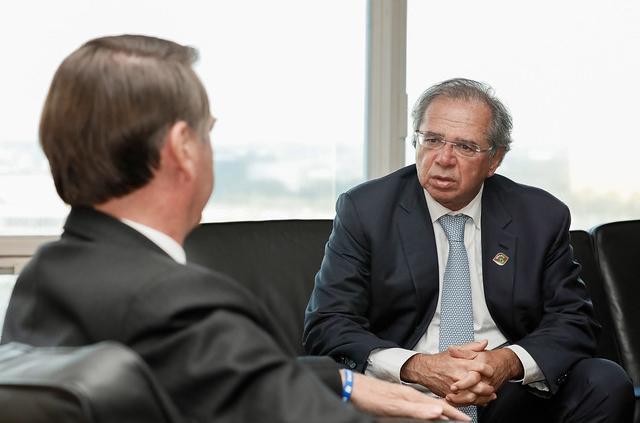 Jair Boslonaro e Paulo Guedes
