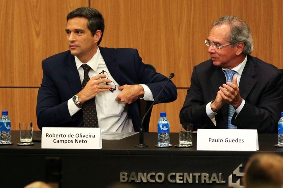 Roberto Campos Neto e Paulo Guedes