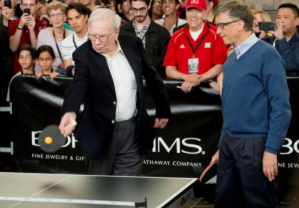 Warren Buffett e Bill Gates