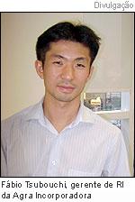 Fábio Tsubouchi, gerente de RI da Agra