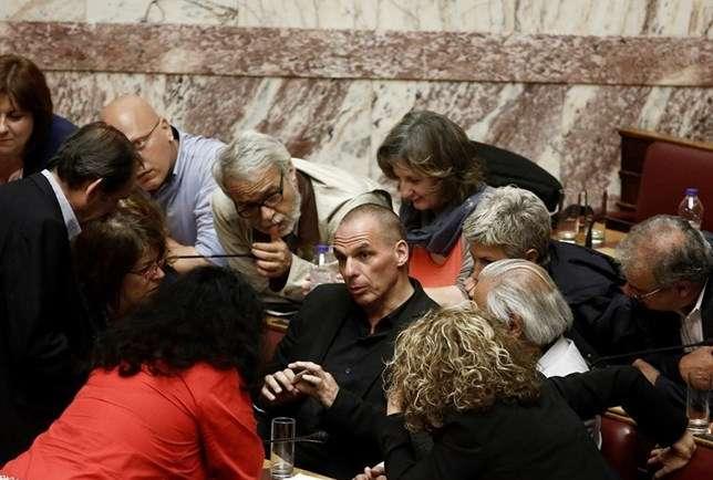 Varoufakis e Syriza