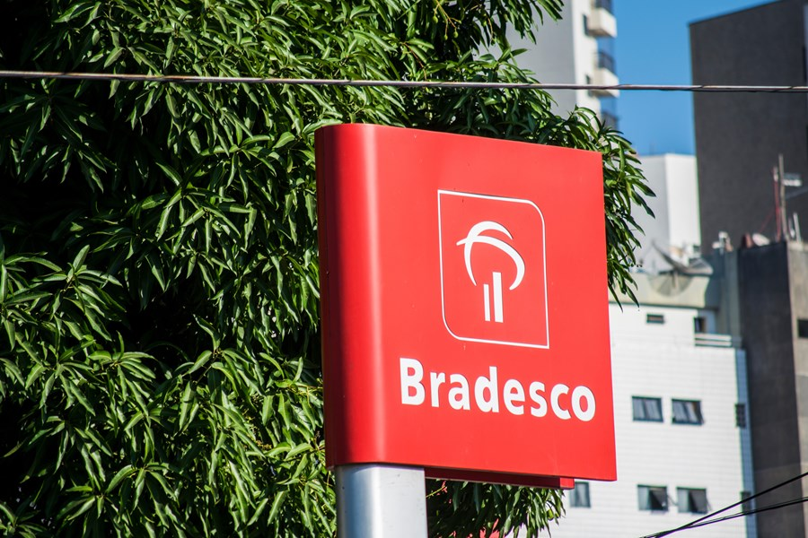 Logo do banco Bradesco