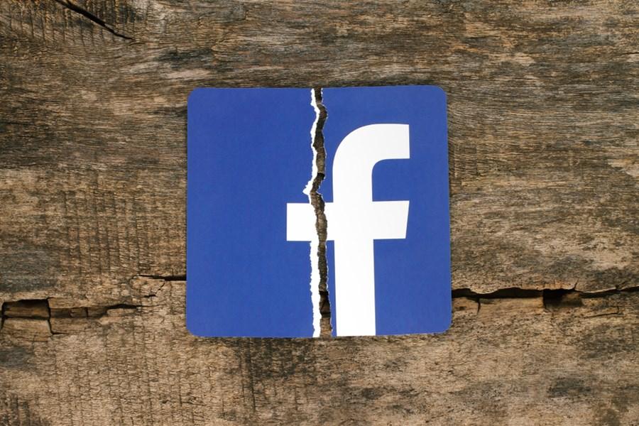 Logo facebook cortada