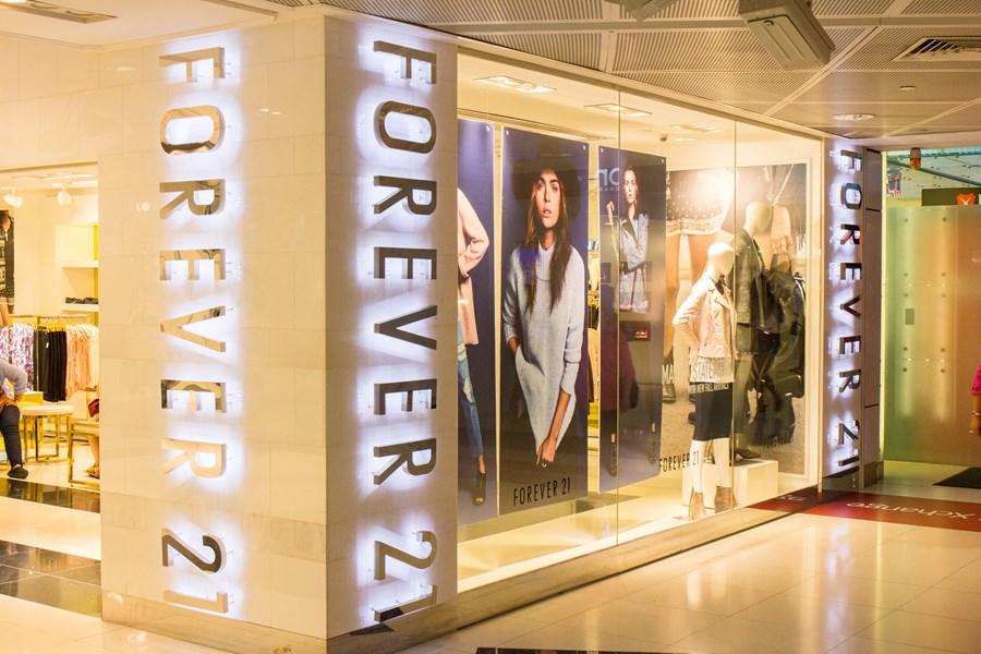 Fovever 21 vai fechar todas as lojas instaladas em shoppings da Multiplan até fevereiro