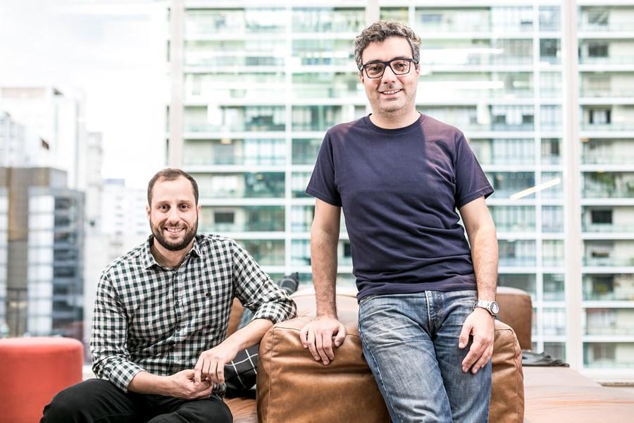Gabriel Braga e André Penha: fundados do QuintoAndar (Divulgação)