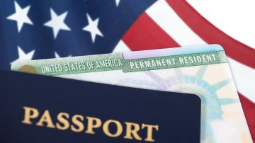 Green Card e Passaporte
