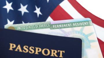 Green Card e Passaporte