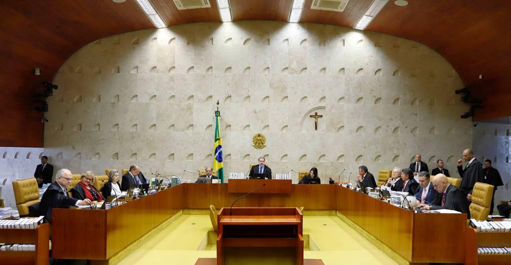 Plenário do STF (Crédito: Rosinei Coutinho/STF)