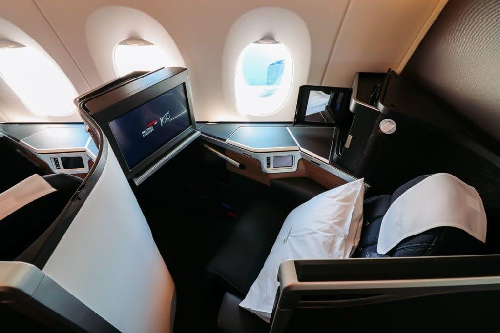 british airways club suite airbus a350 classe executiva