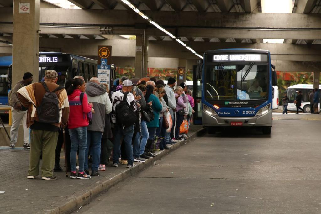 Ônibus Municipal em São Paulo