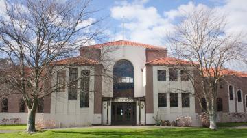 Um dos campus da Universidade Massey, Nova Zelândia