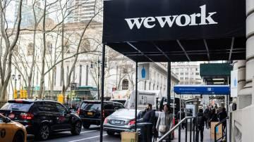 Fachada da WeWork