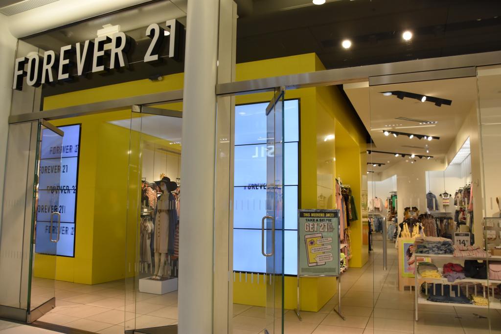 Loja da Forever 21 em Nova York
