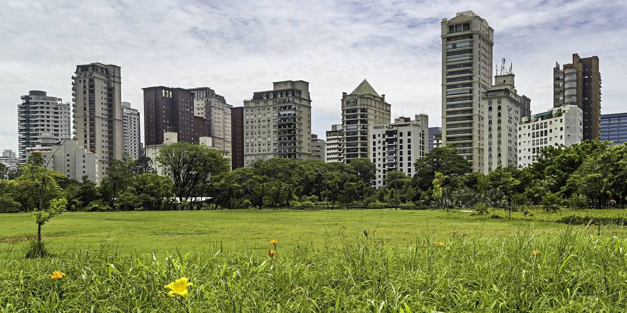 Vista dos imóveis da Vila Nova Conceição do Parque do Povo