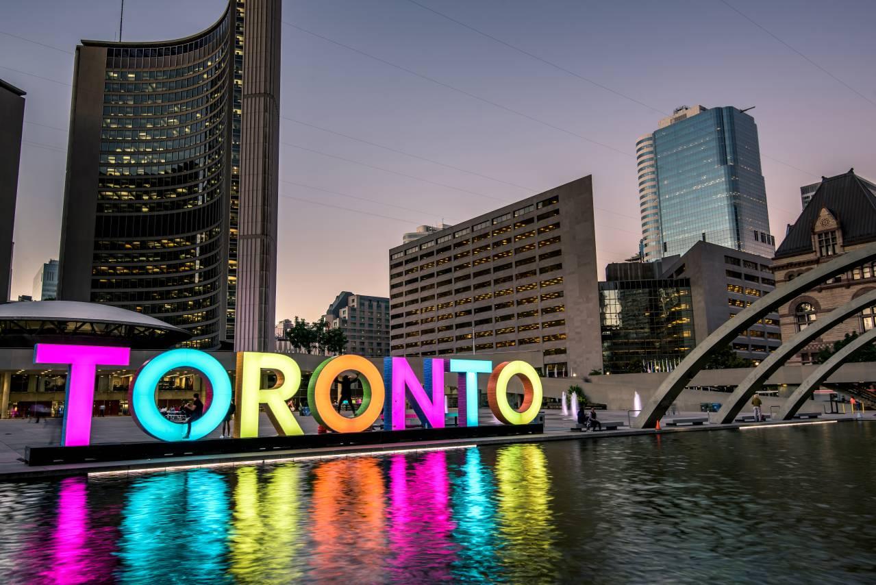 Logo da cidade de Toronto no Canadá