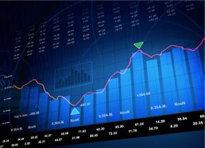 Gráfico de ações (Shutterstock)
