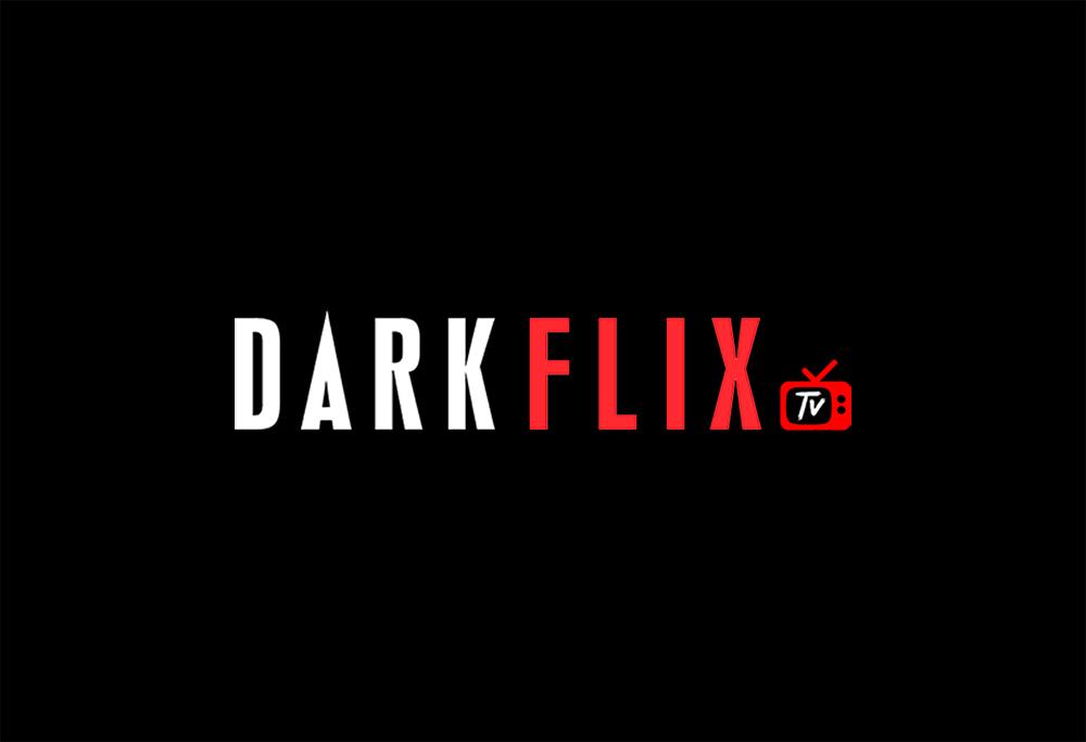 Logo da Darkflix em fundo preto