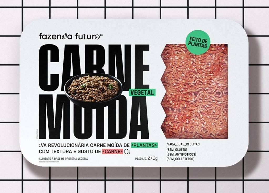 Carne vegetal moída Fazenda do Futuro