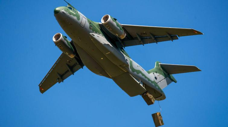 KC390_Container Delivery System