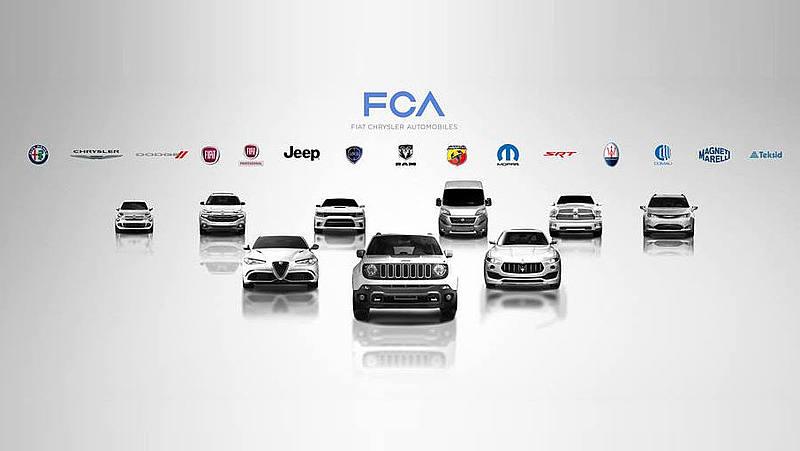 Modelos de automóveis da FCA