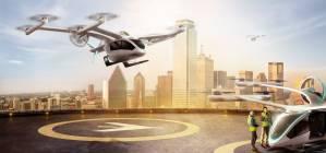 Táxis voadores ganham impulso com aposta de aéreas em startups
